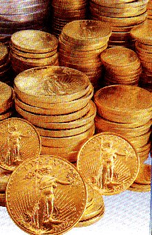 gold coins wallpaper